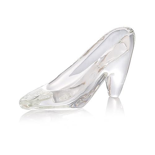 THREE FISH Crystal Super Crystal Cinderella s Slipper Figurine 0f074e8da98a
