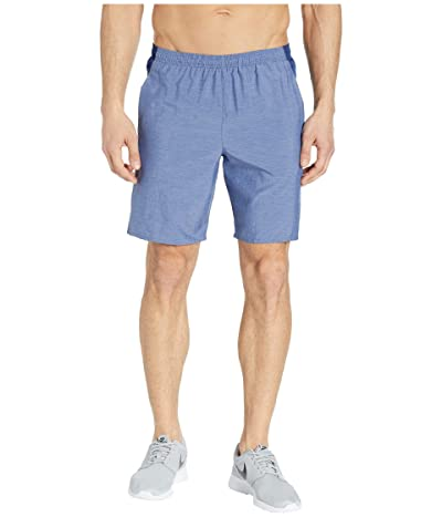 Nike Challenger Shorts 9 BF (Blue Void/Blue Void/Heather/Metallic Silver) Men