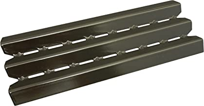 Music City Metals 96021 Porcelain Steel Heat Plate Replacement for Gas Grill Models by Broil-Mate, Huntington, Broil King, Sterling, Rebel, Patriot, Baron and Others