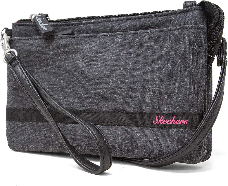 Skechers RFID Crossbody Bag with Belt Loop