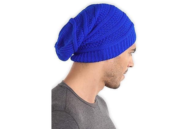 e65a221fcd8 Slouchy Cable Knit Beanie - Chunky