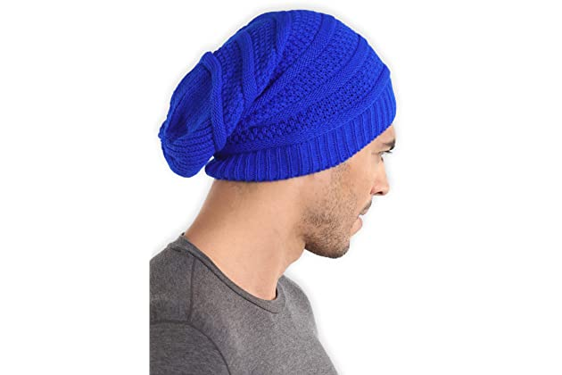 Slouchy Cable Knit Beanie - Chunky 818d1b6aaa3