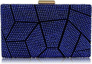 bf4bb5f5c Yekajlin Clutches for Women Rhinestone Glitter Clutch Purse Evening Bag
