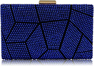 Clutches Bag for Women, Crystal Sparkly Evening Clutch Bag Rhinestone Glitter Clutch Purse