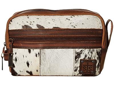 STS Ranchwear Cowhide Shave Kit (Cowhide/Tornado Brown) Bags