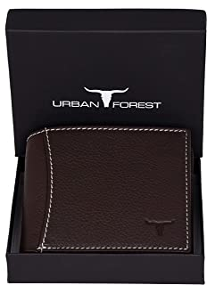 Urban Forest Sheldon RFID Blocking Chocolate Brown Leather Wallet for Men
