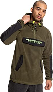 DC Shoes Tagans - Half-Zip Polar Fleece Hoodie for Men EDYPF03041
