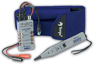 TEMPO Communications 802K Digital LAN Tracing Kit – Troubleshoot Local Area Networks (LAN) and VDV Wiring - Includes Filtered Tone Probe and LAN Toner (formerly Greenlee Communications)