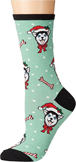 Socksmith - Christmas Huskies