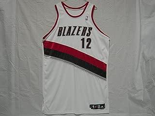 #12 LaMarcus Aldridge 2006-07 Portland Trailblazers Game Worn ROOKIE Jersey