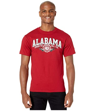 Champion College Alabama Crimson Tide Jersey Tee (Cardinal 3) Men