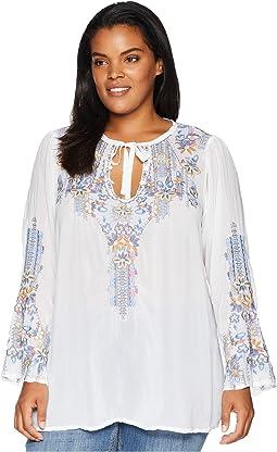 Plus Size Tanya Tonal Blouse