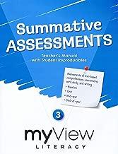 myView Literacy Summative Assessments Teacher's Manual Grade 3