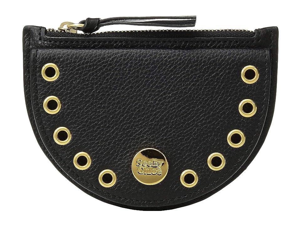 See by Chloe Kriss Mini Coin Purse (Black) Wallet Handbags