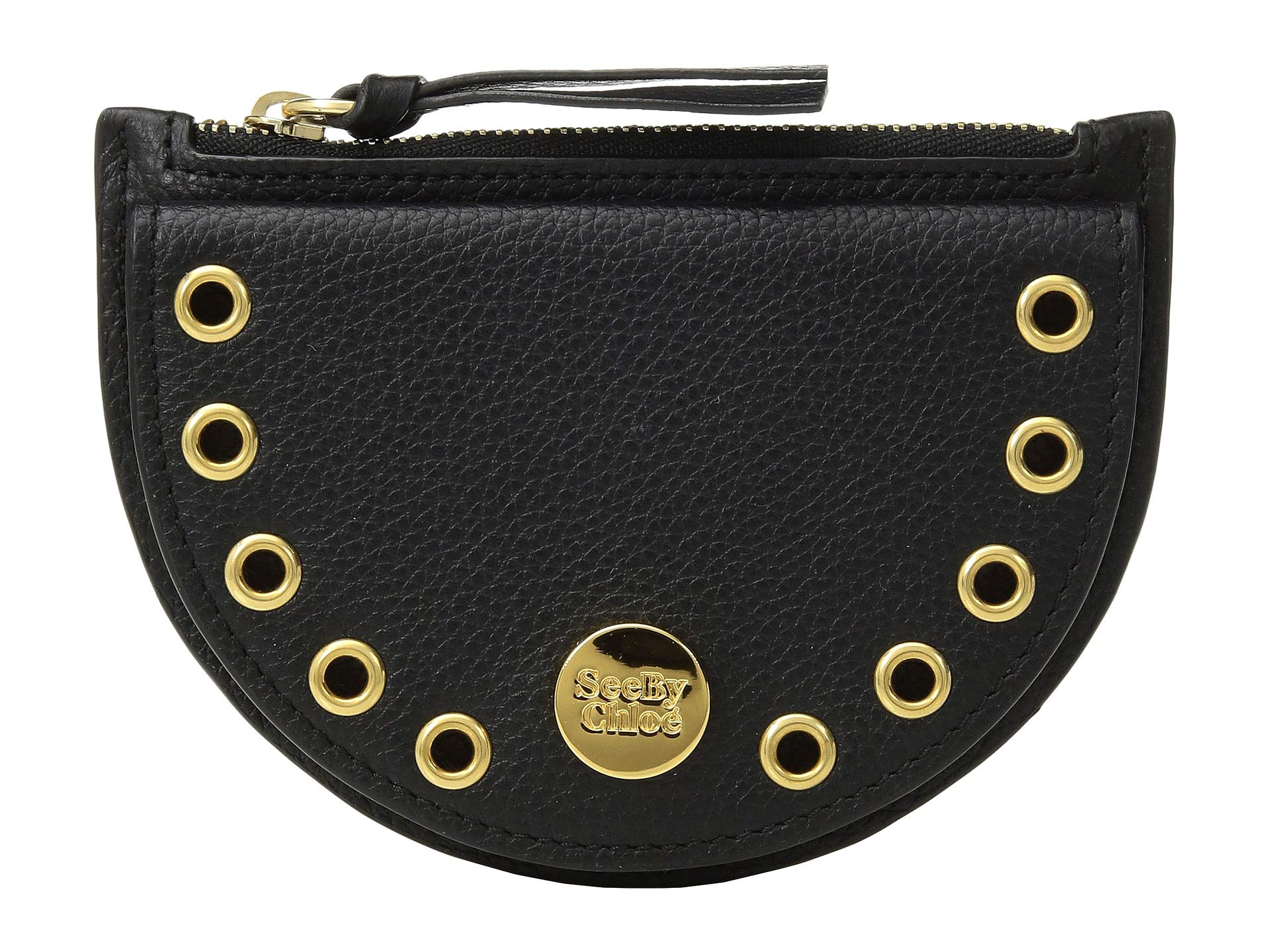 Purse Chloe Coin By See Mini Black Kriss nRqI5Xn1pw