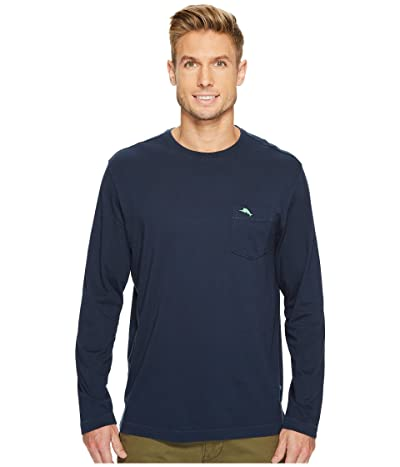 Tommy Bahama New Bali Skyline Long Sleeve T-Shirt (Blue Note) Men