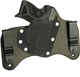 FoxX Holsters New Ruger LCP II in The Waistband Hybrid Holster Tuckable, Concealed Carry Gun Holster