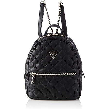 Guess Cessily Backpack, Bags Crossbody para Mujer, Negro, Talla única