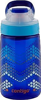 Contigo自动密封Gizmo Sip儿童水瓶 14盎司 宝蓝色