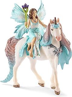 SCHLEICH bayala Fairy Eyela with Princess Unicorn Imaginative Toy for Kids Ages 5-12