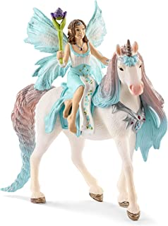 Schleich Fairy Eyela with Princess Unicorn Toy Figure