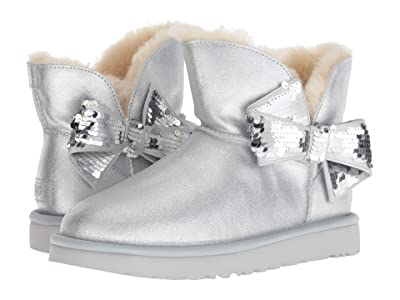 UGG Mini Sequin Bow (Silver) Women