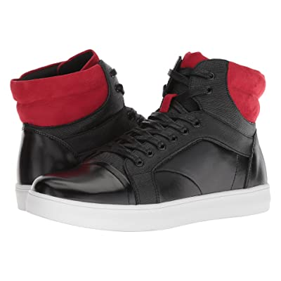 Kenneth Cole Unlisted Drive Sneaker B (Black/Red) Men