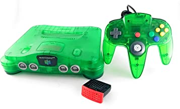 Nintendo 64 System Video Game Console Jungle Green