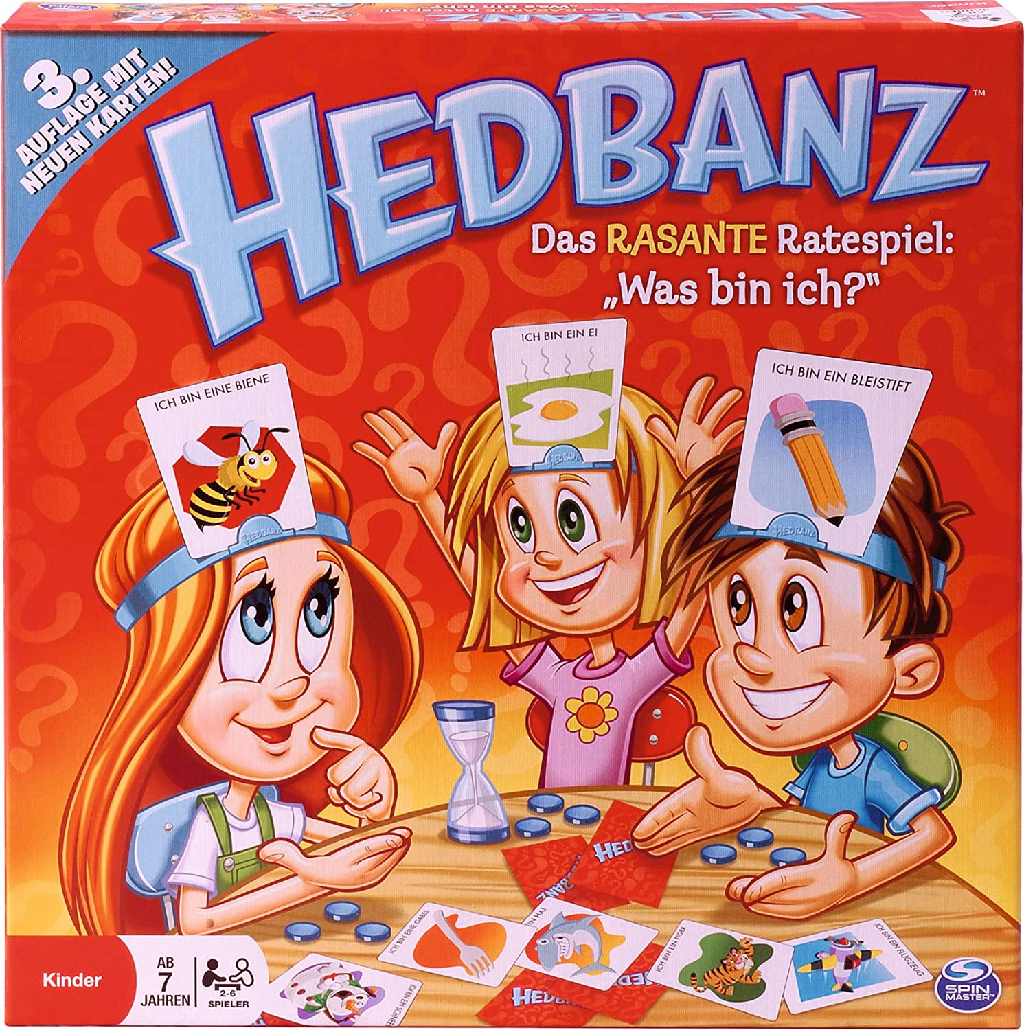 Cardinal Games Be super welcome 6019225 Hedbanz OFFicial mail order Game Board Multicoloured Kids