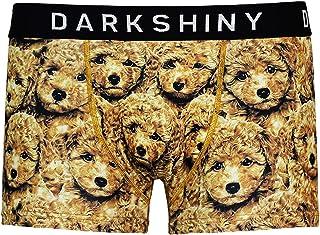 [DARK SHINY(ダークシャイニー)] ボクサーパンツ メンズ TOY POODLE トイプードル(YLMM59)