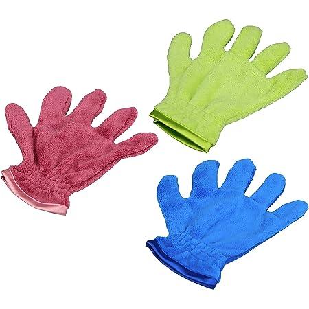 Respekt Mikrofaser Staubtuch Handschuh Wunderbare Softer Staubhandschuh Das Original Aus Dem Tv 3tlg Bunt Drogerie Körperpflege