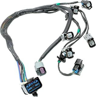 APDTY 022190 Fuel Rail Fuel Injector Wiring Pigtail Connector Complete Harness Fits 2001-2003 V6 3.3L or 3.8L / Grand Voyager/Town & Country/Grand Caravan (Replaces 4868408AC, 4868408AD)