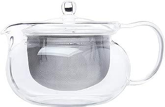 Hario Chacha Kyusu Maru Tetera, Casual, Glass, 700ml, 1