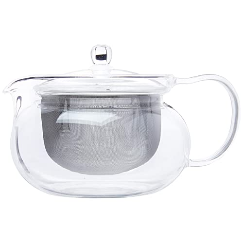 Hario CHJMN-70T Cha Kyusu Maru Tea Pot, 700ml, glass