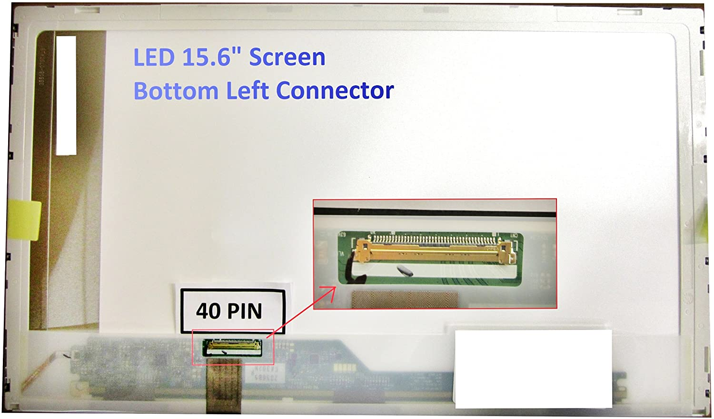 ACER ASPIRE Surprise price 5741-5698 Laptop Screen 15.6 LEFT Max 83% OFF BOTTOM LED HD WXGA