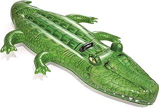 Bestway Inflatable Crocodile Pool Float, Ride-On Toy