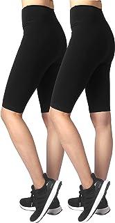 Neonysweets Womens Gym Fitness Yoga Shorts Cotton Half Pants