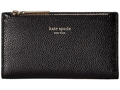 Kate Spade New York Margaux Small Slim Bifold Wallet (Black) Bi-fold Wallet