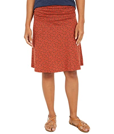 Toad&Co Chaka Skirt (Auburn Daisy Chain Print) Women