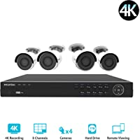 LaView 8 Channel 4K UHD Digital NVR Security Camera System