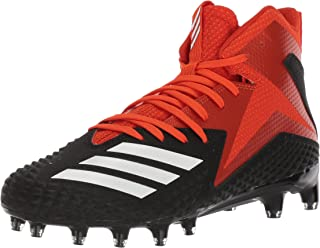 orange and black adidas football cleats