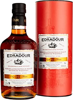 Edradour 21 Years Old Oloroso Cask Finish mit Geschenkverpackung 1995 Whisky 1 x 0.7 l