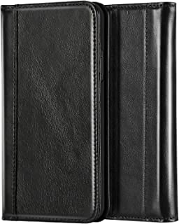 ProCase Genuine Leather Case for iPhone Xs Max, Vintage Wallet Folding Flip Case with Kickstand Card Holder Protective Cover for Apple iPhone Xs Max 6.5