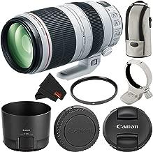 Canon EF 100-400mm f/4.5-5.6L is II USM Zoom Lens Bundle International Version
