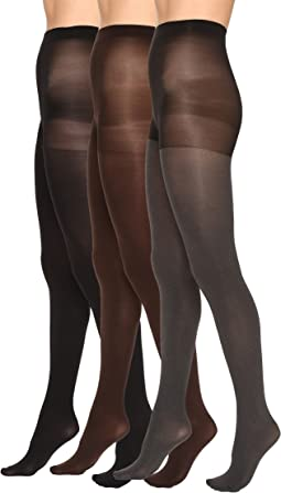 Super Opaque 3 Pair Pack Tights