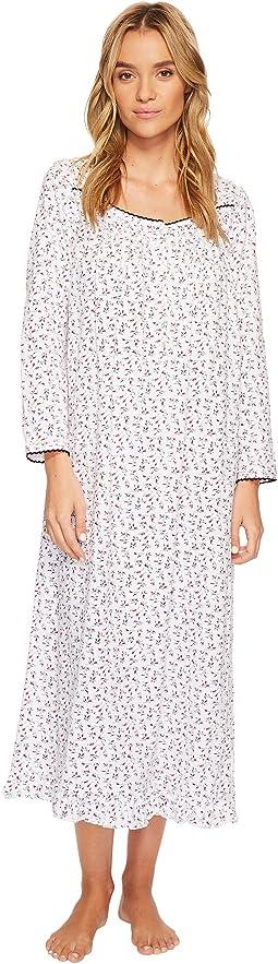 Eileen West - Peached Jersey Ballet Long Sleeve Nightgown