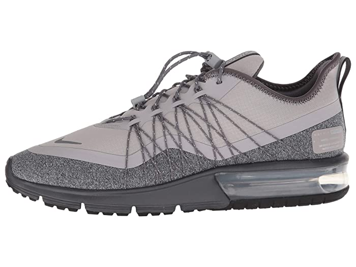 Nike Nike Air Max Sequent 4 Shield (Dark GreyMetallic SilverBlack) Women's Running Shoes from Zappos | Shop