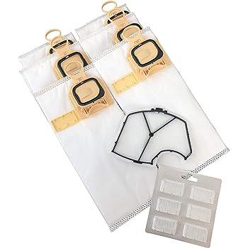 Clean Fairy bolsas de aspiradora Juego de 6 bolsas para aspiradoras Vorwerk VK140 y VK150 Plus 1 filtro de motor y 1 ambientadores Stick: Amazon.es: Hogar