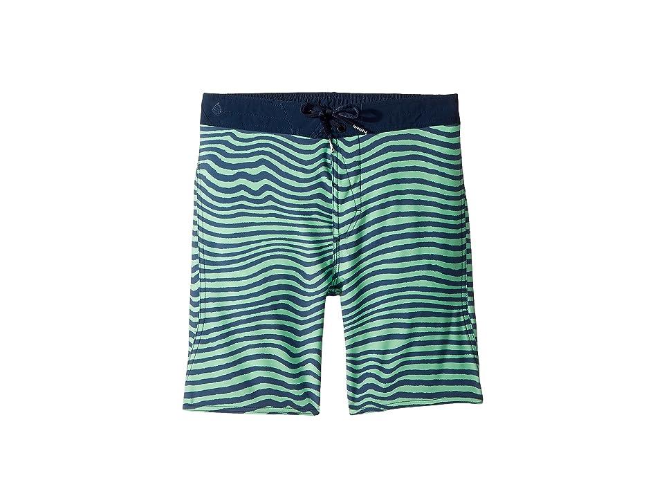 Volcom Kids Mag Vibes Elastic Boardshorts (Little Kids/Big Kids) (Green Mist) Boy