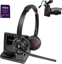 $399 » Plantronics Savi 8220 Wireless Headset System Bundle with Lifter and Headset Advisor Wipe- Productivity Package